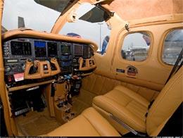 Cessna interér